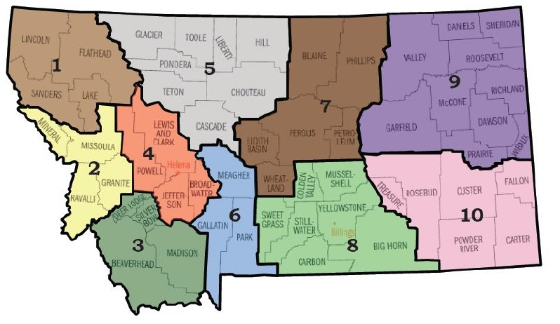 JCF Regions
